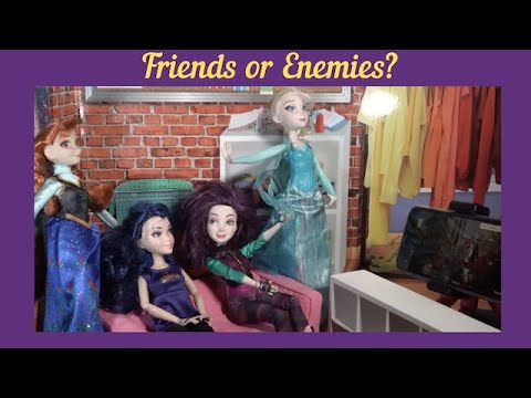 FROZEN 2 VS DESCENDANTS 3 (Parody)/Frozen 2 Premiere