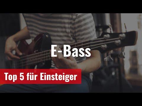 Top-5 E-Bass für Einsteiger