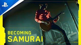 Cyberpunk 2077 - Becoming Samurai   PS4