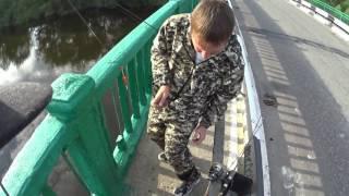 Как ловить вертушками на реке ипуть
