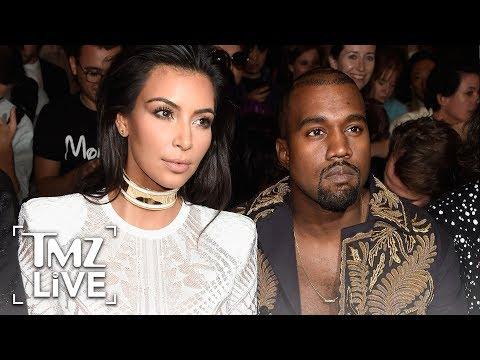 [TMZ] Kim & Kanye: Rare PDA!