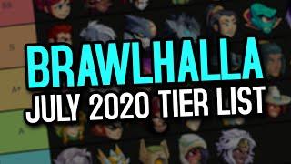 BRAWLHALLA TIER LIST - JULY 2020