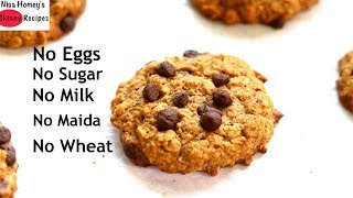 oatmeal chocolate chip cookie recipe no sugar