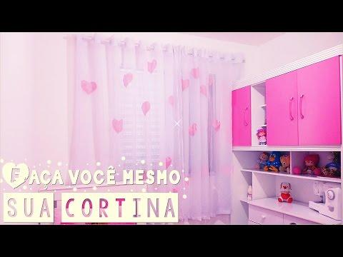 Como fazer uma cortina ( inspirada no pinterest ) Elaine Oliveira •