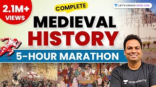5-Hour Marathon Session | Complete Medieval History | UPSC CSE/IAS 2020/2021 | Byomkesh Meher - Download this Video in MP3, M4A, WEBM, MP4, 3GP