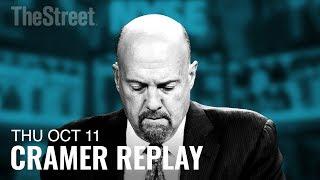 Jim Cramer Breaks Down the Market Selloff