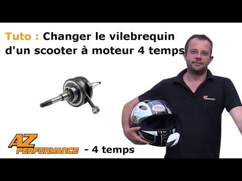 Changer le vilebrequin et la pompe à huile de son scooter de type Gy6 / 139QMB / …