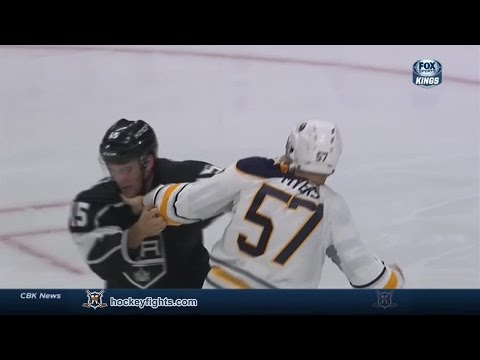 Andy Andreoff vs. Tyler Myers