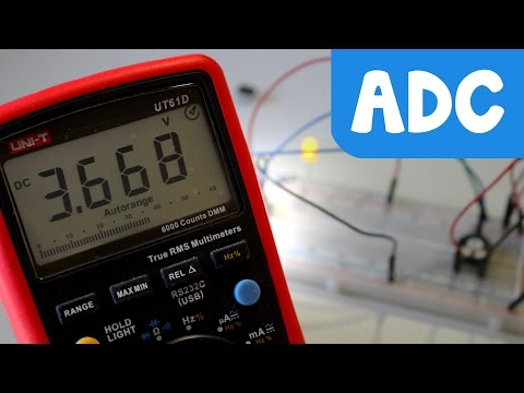 ADC Conversor analógico a digital