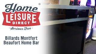 Beaufort Home Bar (in High Gloss Black)