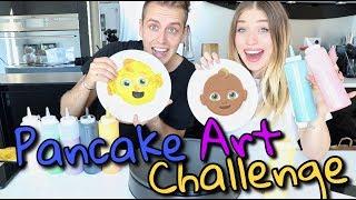 Pancake Art Challenge | Bibi