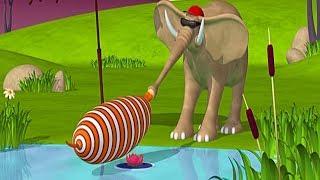 Газун мультик для детей на русском - Приключения на пляже Мультфильм Газун новые серии