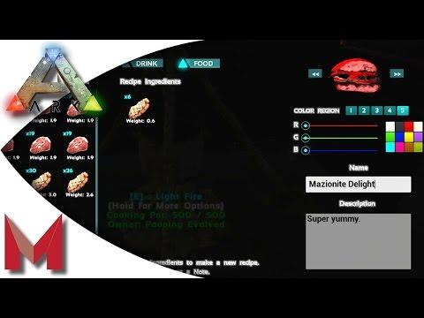 Video ARK: Survival Evolved - Cooking Recipe - Mazionite Delights! S2E109 Gameplay