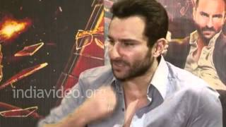Saif about the character of Agent Vinod