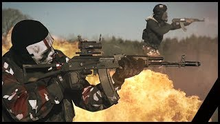 Airsoft War: Modern Combat Frontline In Real Life