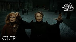 Download Video Professor McGonagall Protects Hogwarts | Harry Potter and the Deathly Hallows Pt. 2 MP3 3GP MP4