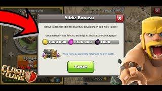 5 KAT YILDIZ BONUSU ETKİNLİĞİ !! (1.300.000 GANİMET) | Clash Of Clans