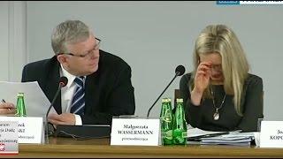 Małgorzata Wassermann nie wytrzymała na odpowiedź sędziego
