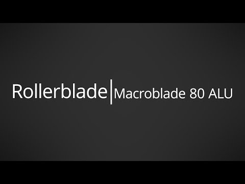 Video: 2017 Rollerblade Macroblade 80 ALU Mens and Womens Inline Skate Overview by InlineSkatesDotCom
