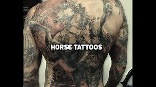 Horse Tattoos - Best Horse Tattoo Designs