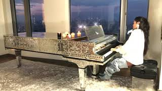 Chopin Nocturne Op. 72, No. 1 Chloe Flower On Liberace's Piano