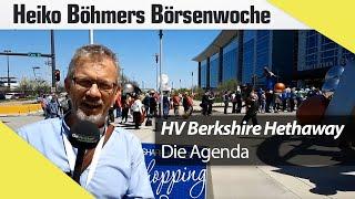 Hauptversammlung Berkshire Hathaway 2018 – das steht alles an