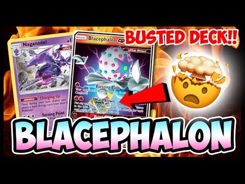 BUSTED Blacephalon GX – Pokemon TCG Online Gameplay