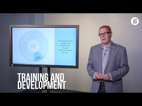 The HR Model: Training and Development - YouTube