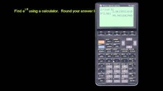 u18_l3_t1_we4 Calculator for Powers of e