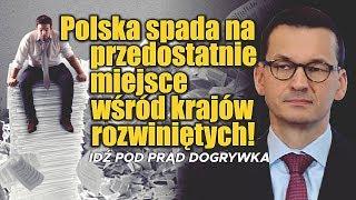 Polska spada na przedostatnie miejsce wśród krajów rozwiniętych! SERWIS INFORMACYJNY
