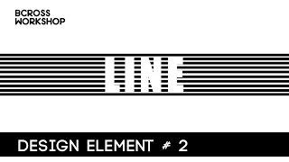 【平面设计】设计元素【线】的分享 element of design principle line【教学教室】