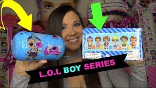LOL Surprise under wraps series 4 wave 2 BOY SERIES wave 3 Opening fake lol surprise dolls
