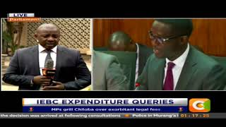 MPs grill Chiloba over exorbitant legal fees.