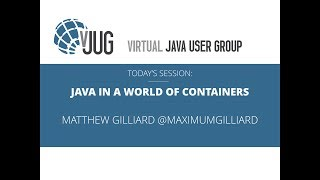 Java in a World of Containers | Kholo.pk