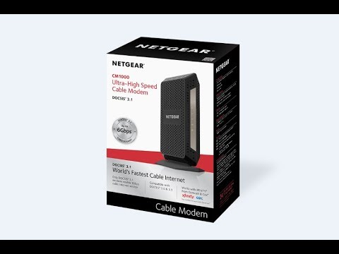 Arris CM8200 VS Netgear CM1000 DOCSIS 3 1 Modem Comparison