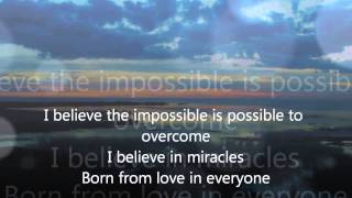 Believe Again- Delta Goodrem (Lyrics)