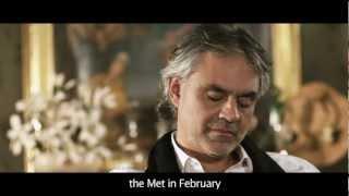 Notte Illuminata: Intervista/Interview - Andrea Bocelli