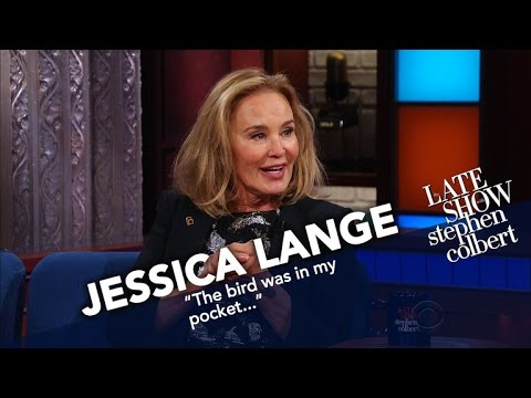 Jessica Lange Is Feuding With Kellyanne Conway (In Her Head)
