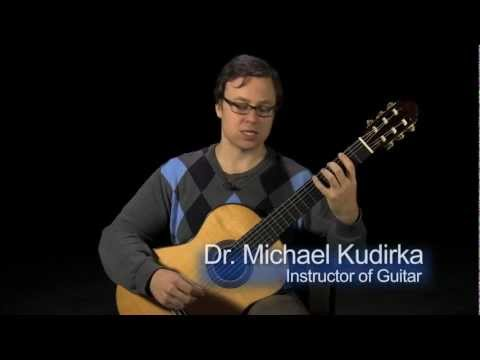 Guitar Lesson: Correct Left Hand Position for the Guitar