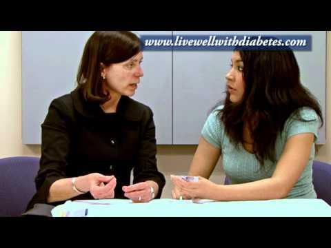 Ernährung die Symptome von Diabetes