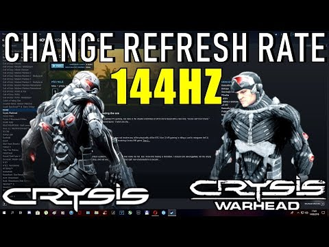 How to play 144 hz monitor?? :: Crysis Warhead Obecné diskuze