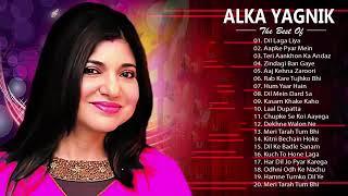 ALKA YAGNIK Hit Songs | Best Of Alka Yagnik | Latest Bollywood Hindi Songs | Golden Hits