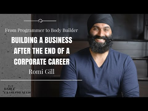 Romi Gill on Building a Business After the End of a Corporate Career with Ahmed Aibak