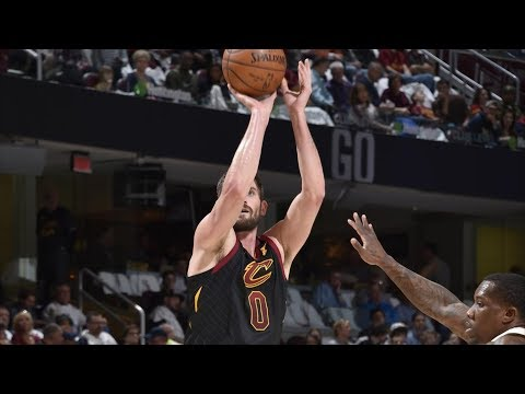 Kevin Love Returns! Ty Lue Drama! LeBron 40 Pts Triple Double! 2017-18 Season