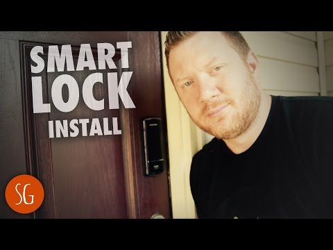 Secure your house with a Samsung Smart Door Lock SHS-1321 | Installation