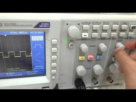 Tutorial: ¿Cómo usar el Osciloscopio?