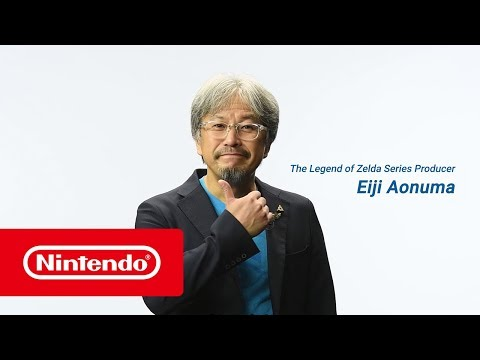 The Legend of Zelda: Breath of the Wild – Special message from Eiji Aonuma
