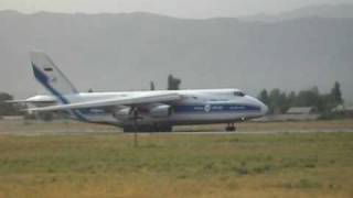 preview picture of video 'Take off Antonov AN-124'