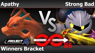 IaB! 86 PM - Apathy (Charizard) vs Strong Bad (MK) - Winners Bracket