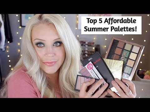 Top 5 Best Affordable Eyeshadow Palettes | MY FAVORITE EYESHADOW PALETTES FROM THE DRUGSTORE